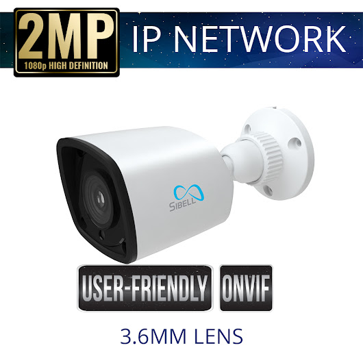 2mp Economy IP Bullet Camera Weatherproof with IR