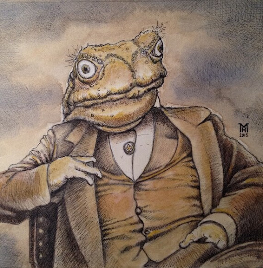 Mr. Toad by TheArtofMarkRHansen on Etsy