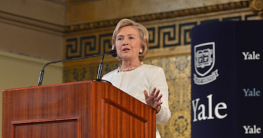 Connecticut: Hillary Clinton made Honorary Skull and Bones member during Yale ceremony