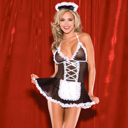 Costume - French maid babydoll (One size fits most)