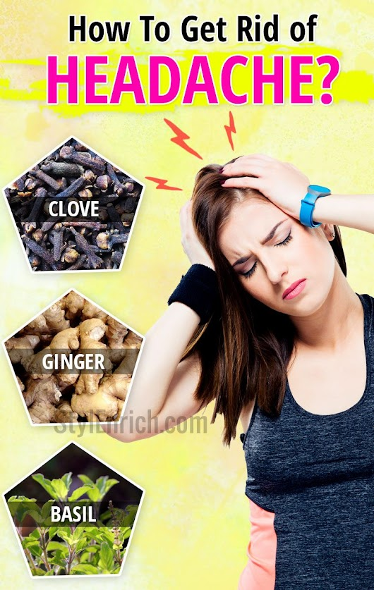 how to get rid of pounding headache naturally