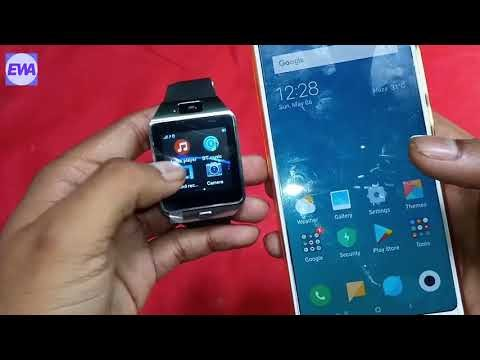 Connect Smartwatch To Android Phone How Smart Watch Dz09 How To