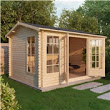 iLikeLogCabins | 13ft x 10ft (4m x 3m) AROSA Log Cabin with FREE Floor & Felt (28mm T&G)
