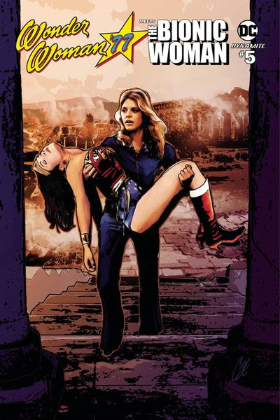Wonder Woman 77 Bionic Woman #5 (of 6) (Cover A - Staggs)