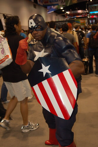 Comic Con 2008: Captain America