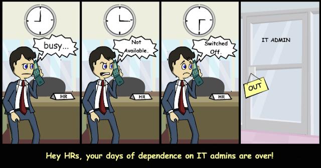 ADManager Plus untuk tim HR perusahaan Anda