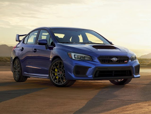 Gillman Subaru Houston North | Introducing the 2018 Subaru WRX STI
