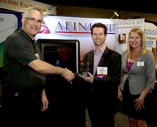 Afinia Wins RAPID 2015 Exhibitor Innovation Award for H800 3D Printer