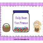 Jelly Bean Ten Frames