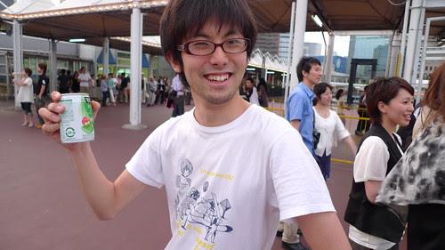 The drummer Nakajima