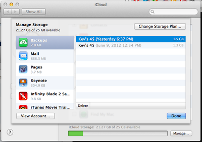 how to delete stuff from icloud on laptop