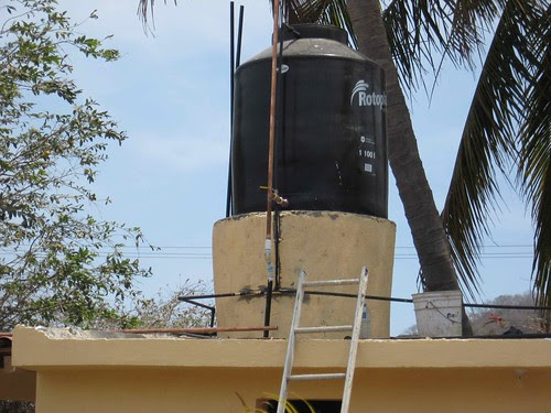 Water tank after