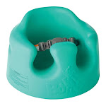 Bumbo Baby Infant Soft Foam Wide Floor Seat w/ 3 Point Adjustable Harness, Aqua by VM Express