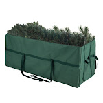 Tiny Tim Totes 83-DT5584 5744 Heavy Duty Canvas Large Christmas Tree Storage Bag Green - 7.5 ft.