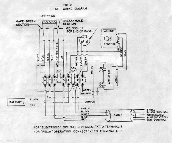 Astatic Silver Eagle Wiring Diagram
