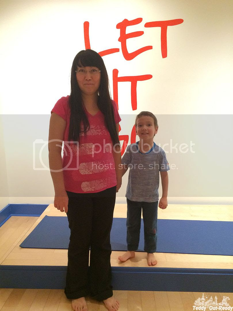Studio Blue Yoga Teddy and Mom