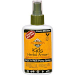 All Terrain Insect Repellent, Natural, Kids Herbal Armor, Pump Spray - 4.0 fl oz