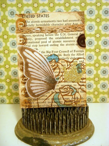 Butterfly Wings ATC