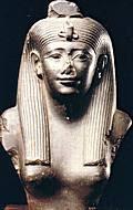 La dea egizia Iside, detta anche Hathor