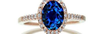 Rose Gold Walmart Engagement Rings