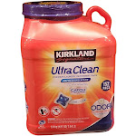Kirkland Signature Ultra Clean Laundry 152 Pacs, 127 Ounce