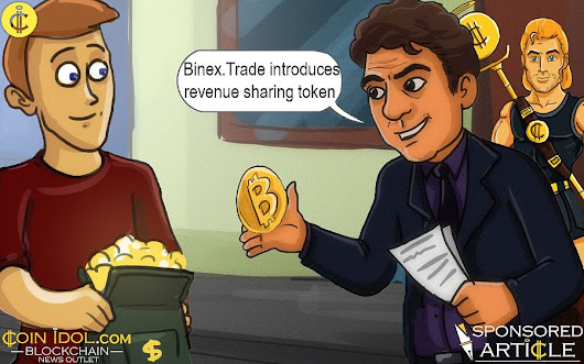 Crypto Exchange Binex.Trade Introduces Revenue Sharing Token