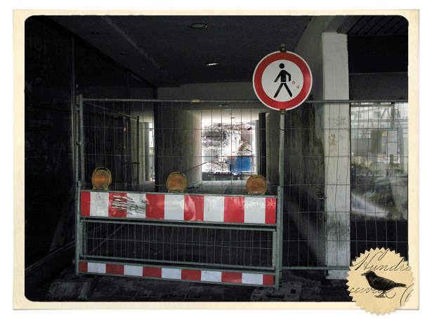 Baustelle in Ulm
