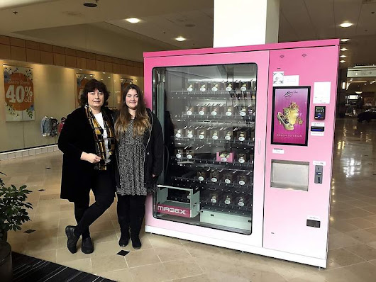 Gourmet Cupcakes Fight For Dominance: in Vending Machines?