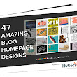 12 Inspiring Examples of Beautiful Blog Homepage Designs