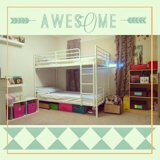 Tips for an Inexpensive Kids Bedroom | Home Maid Simple