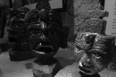 Guatemala - Jade masks