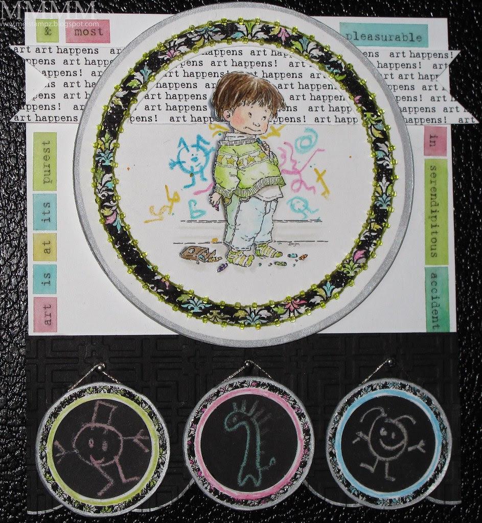 Mo's Digital Pencil Sam in Trouble sketchbook <span class=