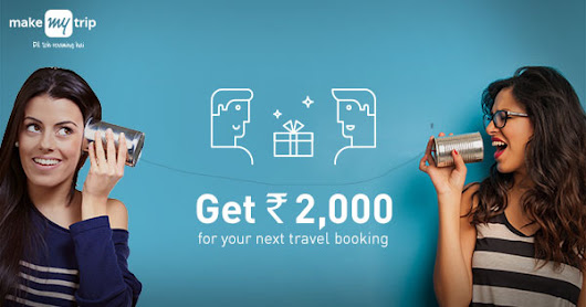 Earn up to Rs 7000 in your MakeMyTrip wallet