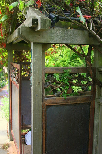 wrought iron gate side panel
