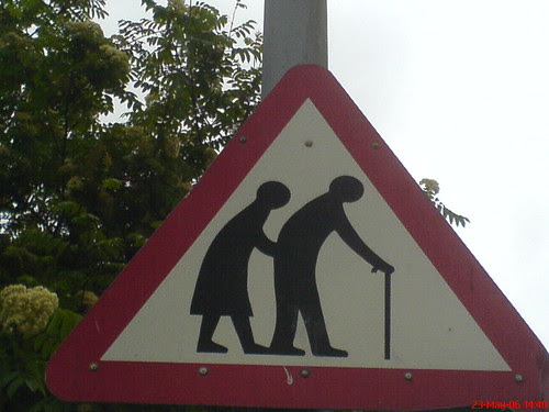Old People Sign by rileyroxx