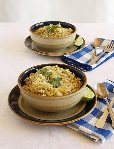 Tomatillo Salsa Verde Rice