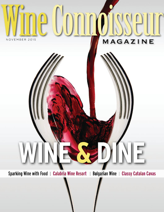 Wine Connoisseur Magazine November 2015