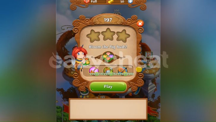 Blossom Blast Saga v1.21.1 Cheats