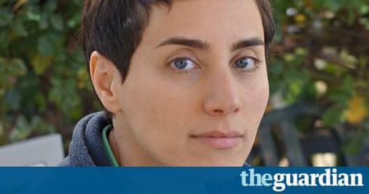 Maryam Mirzakhani: 'The more I spent time on maths, the more excited I got' | Science | The Guardian