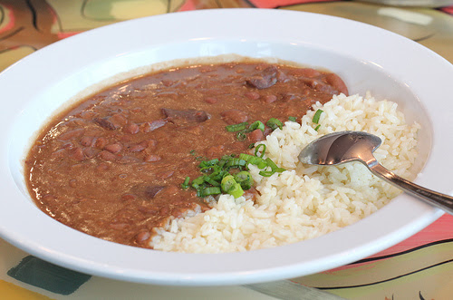 Red Beans & Rice – Not Just For Washday Anymore!  – 30AEATS