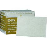 3M MM07445 Scotch-Brite 6 x 9 Light Duty Cleansing Pad White (20)