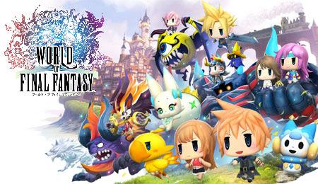 Resultado de imagem para World of Final Fantasy