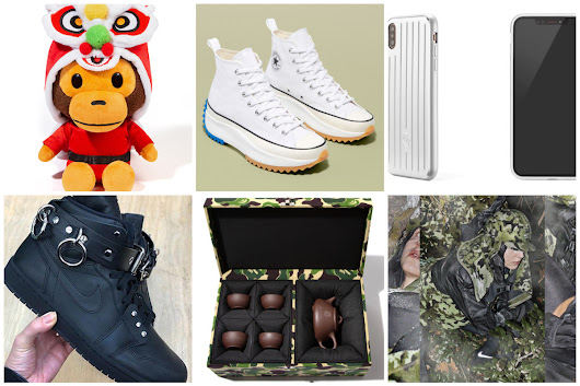 Tuesday Briefing: BAPE Tea Set, MMW x Nike Second Collection, CdG x AJ1 and John Wick 3 Trailer
