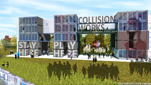 TRANSLOGIC 149: Detroit Collision Works Container Hotel