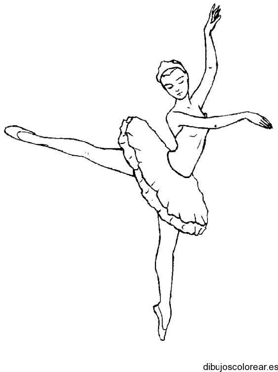 Dibujo Bailarina