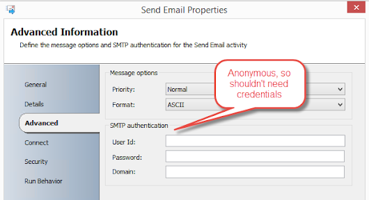 Sending Authenticated and Anonymous Email from System Center Orchestrator - Blog