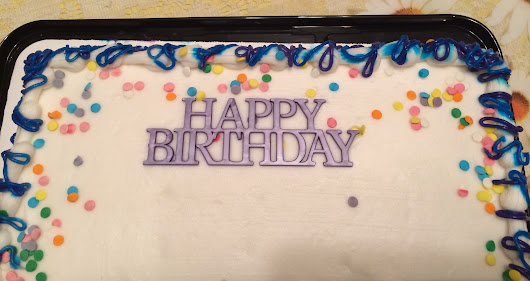 Happy Birthday Cake - James' Blog