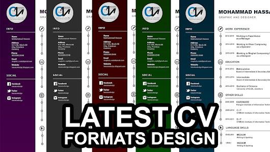 Latest CV Design - Google+
