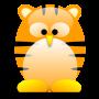 tux, tiger