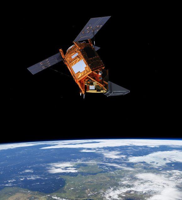 Satélite europeo de observación de la Tierra Sentinel 5P (ESA).